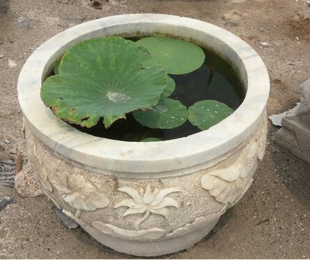 仿古石雕鱼缸价值
