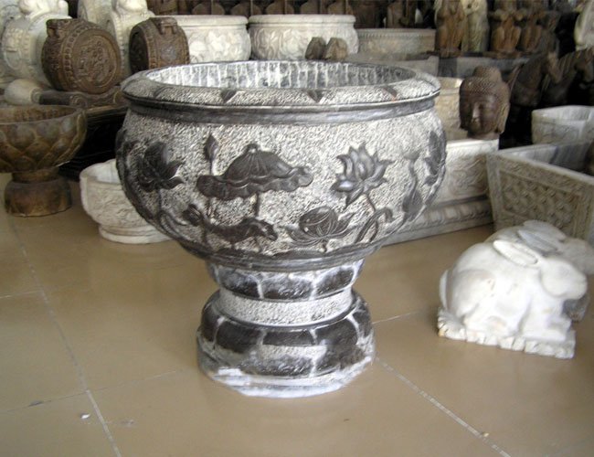 本厂长期批发石雕鱼缸